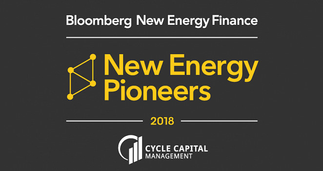 Bloomberg New Energy Finance Award